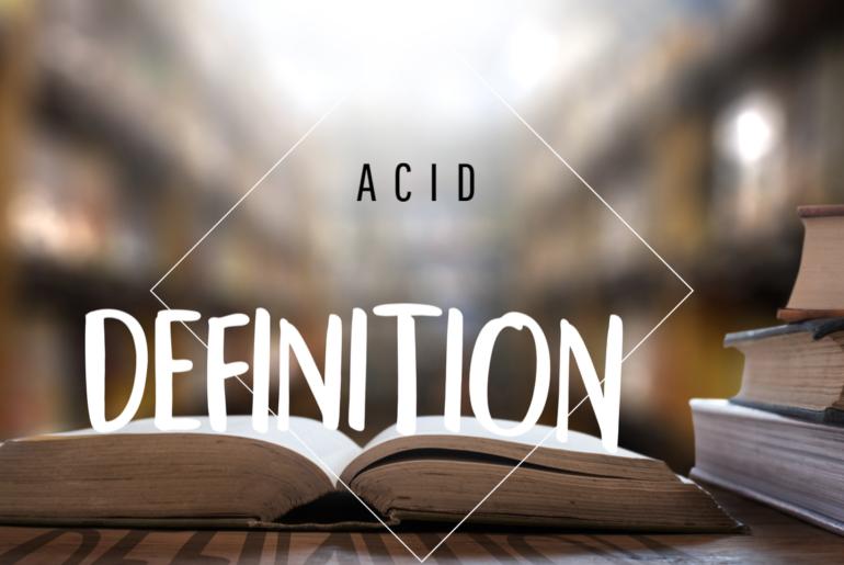 Definition-ACID
