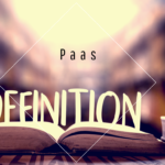 Definition-PaaS-Platform-As-a-Service