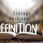 Definition-Persitent-Storage