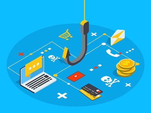 phishing-illustration-hook-laptop-credit-cards